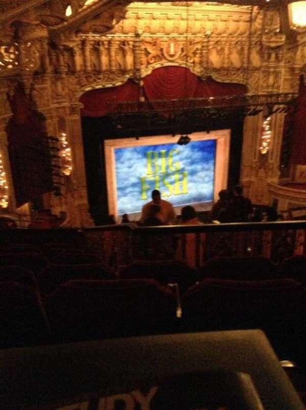 James M. Nederlander Theatre, vak: Balcony L, rij: T, stoel: 367