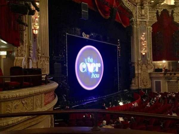 James M. Nederlander Theatre, vak: Dress Circle L, rij: AA, stoel: 7
