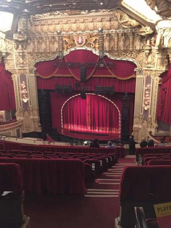 James M. Nederlander Theatre, vak: Balcony R, rij: O, stoel: 350