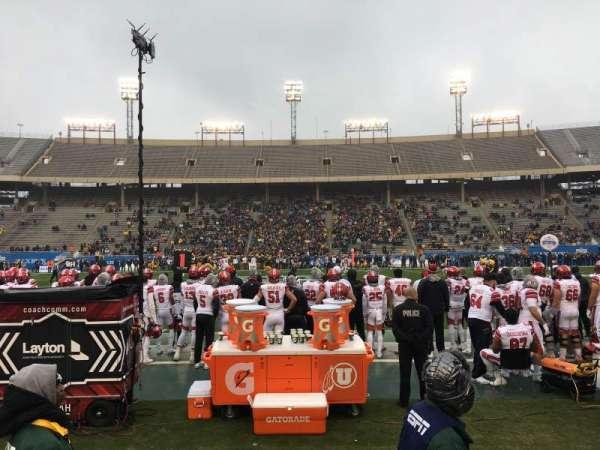 Cotton Bowl, vak: 6, rij: 3, stoel: 8