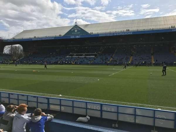 Hillsborough Stadium, vak: North stand T1, rij: 5, stoel: 201