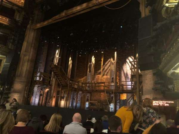 CIBC Theatre, vak: Orchestra Right, rij: K, stoel: 14, 16