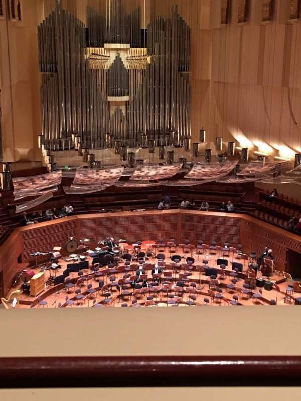 Davies Symphony Hall, vak: 2nd Tier DD, rij: A, stoel: 113