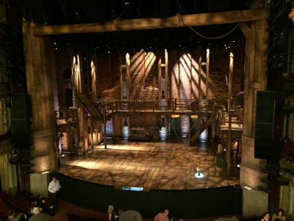 CIBC Theatre, vak: Mezzanine RC, rij: A, stoel: 314