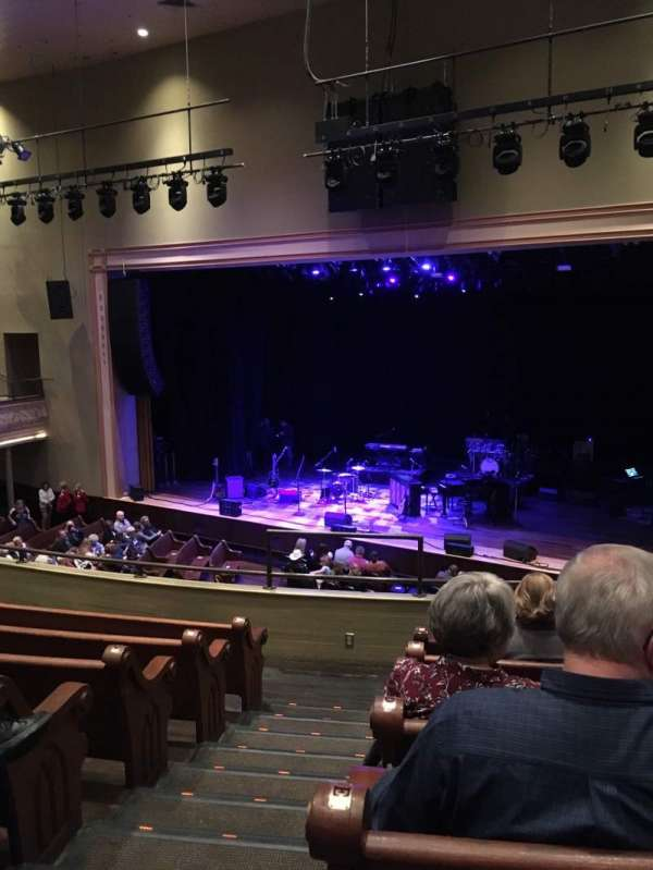 Ryman Auditorium, vak: 11, rij: G, stoel: 10