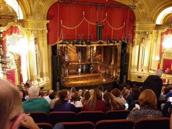 Citizens Bank Opera House, vak: Mezzanine Left, rij: K, stoel: 9