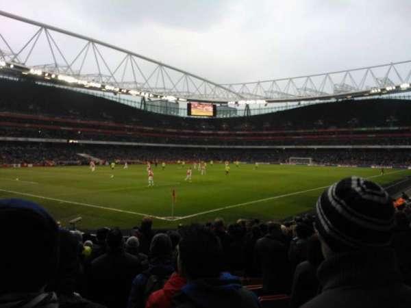 Emirates Stadium, vak: 21, rij: 14, stoel: 654