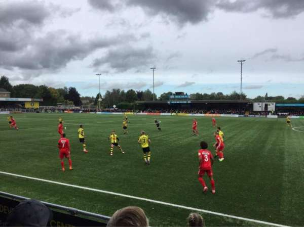 The CNG Stadium, vak: Standing