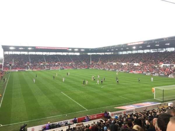 bet365 Stadium, vak: 42, rij: 23, stoel: 985