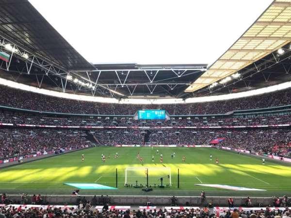 Wembley Stadium, vak: 111, rij: 31, stoel: 269