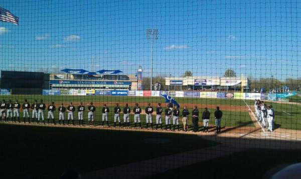 Fifth Third Ballpark, vak: 120, rij: 4, stoel: 12