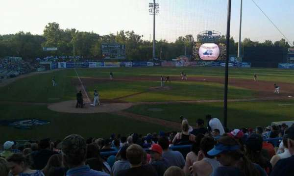Fifth Third Ballpark, vak: 214, rij: 16, stoel: 17
