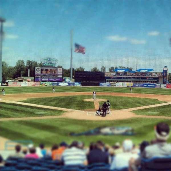Fifth Third Ballpark, vak: 217, rij: 10, stoel: 12