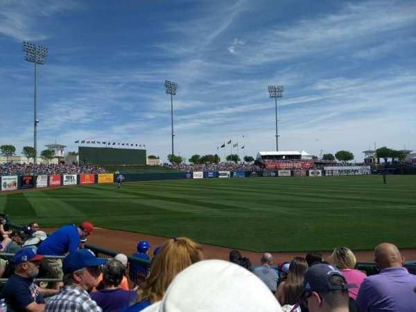 Surprise Stadium, vak: 119, rij: G, stoel: 8