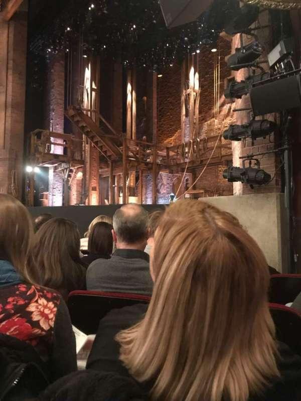 CIBC Theatre, vak: ORCH-R, rij: F, stoel: 20