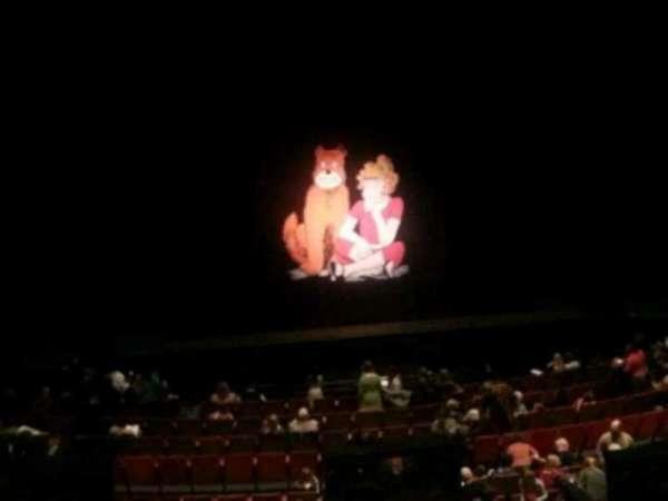 Durham Performing Arts Center, vak: Grand Tier 6, rij: A, stoel: 122