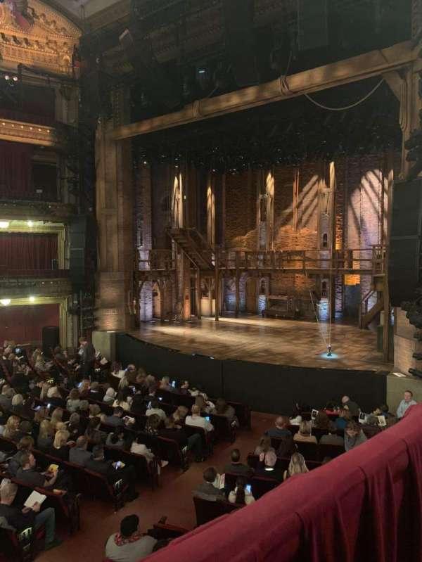 CIBC Theatre, vak: Dress Circle R, rij: A, stoel: 12