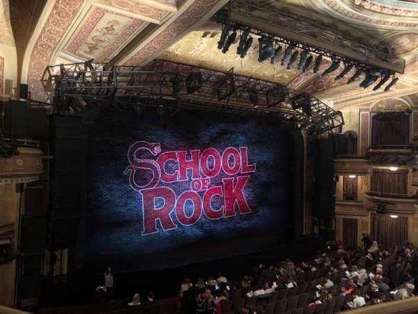 Winter Garden Theatre, vak: Mezzanine RC, rij: A, stoel: 126