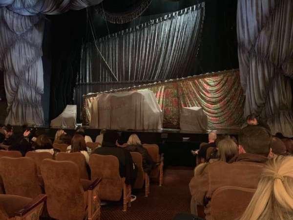 Majestic Theatre, vak: Orchestra R, rij: G, stoel: 2