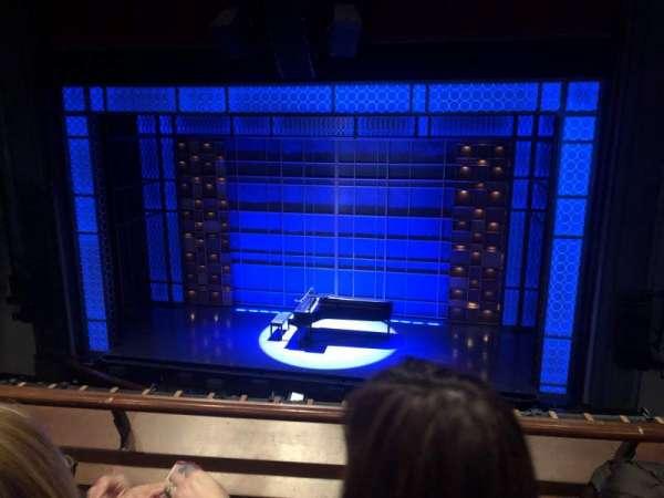 Stephen Sondheim Theatre, vak: Mezz, rij: BB, stoel: 106