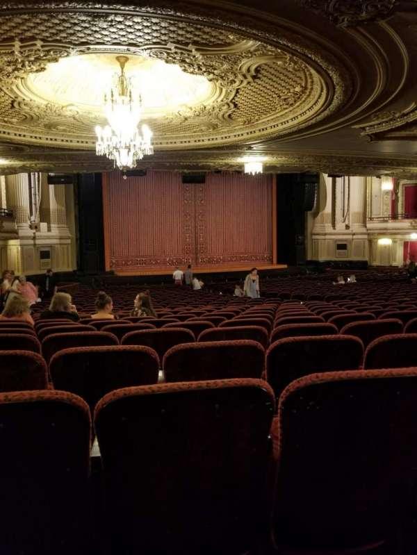 Boston Opera House, vak: Orchestra, rij: Y, stoel: 27
