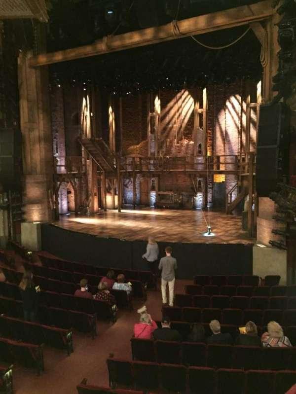 CIBC Theatre, vak: Dress Circle R, rij: A, stoel: 6