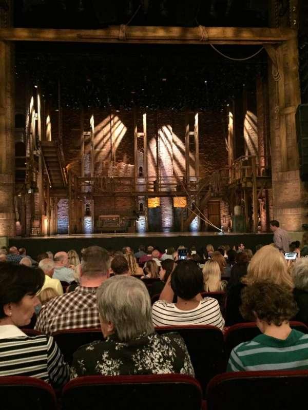 CIBC Theatre, vak: Orch C, rij: Q, stoel: 10