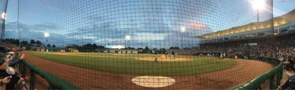 Arvest Ballpark, vak: 114, rij: A, stoel: 2