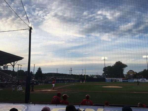 BB&T Ballpark at Historic Bowman Field, vak: D, rij: I, stoel: 2