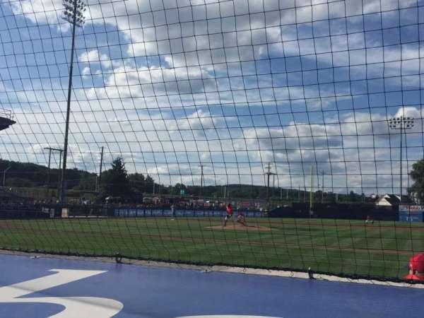 BB&T Ballpark at Historic Bowman Field, vak: A, rij: F, stoel: 4