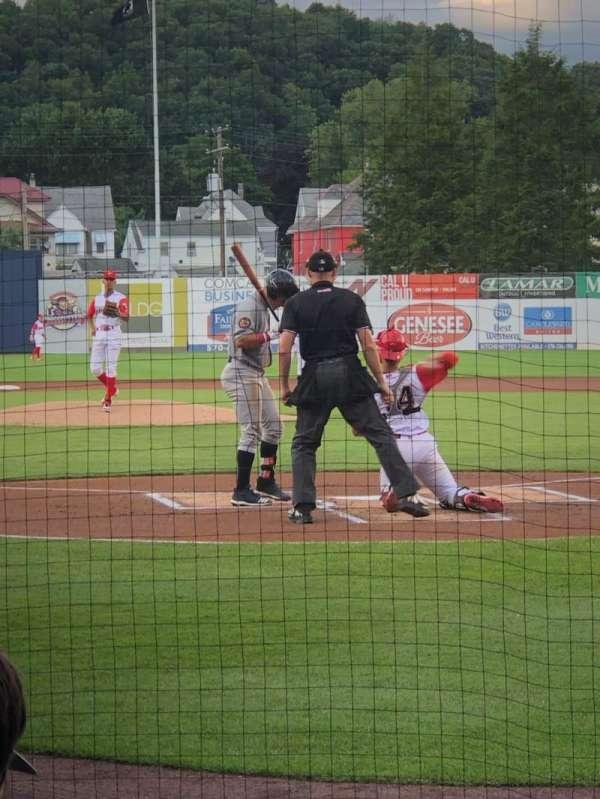BB&T Ballpark at Historic Bowman Field, vak: I, rij: G, stoel: 1