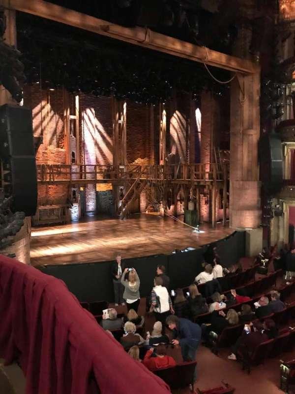 CIBC Theatre, vak: DCRBX1, rij: BX1, stoel: 207