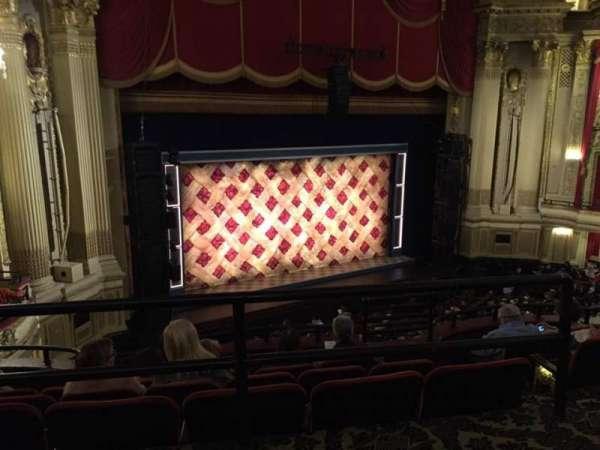 Boston Opera House, vak: MEZLFT, rij: A, stoel: 13