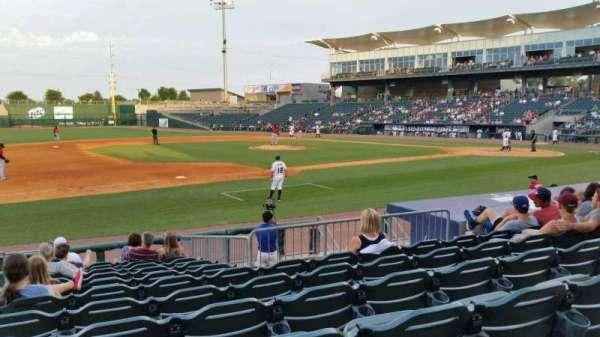 Arvest Ballpark, vak: 117, rij: K, stoel: 15
