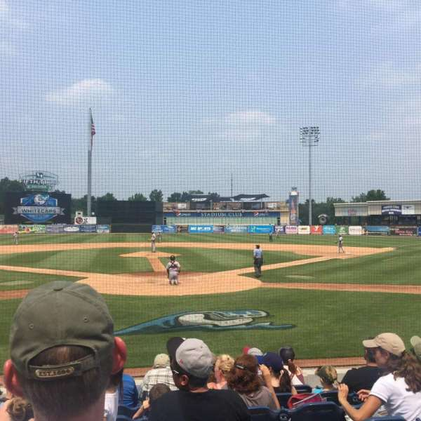 Fifth Third Ballpark, vak: 117, rij: 5, stoel: 16