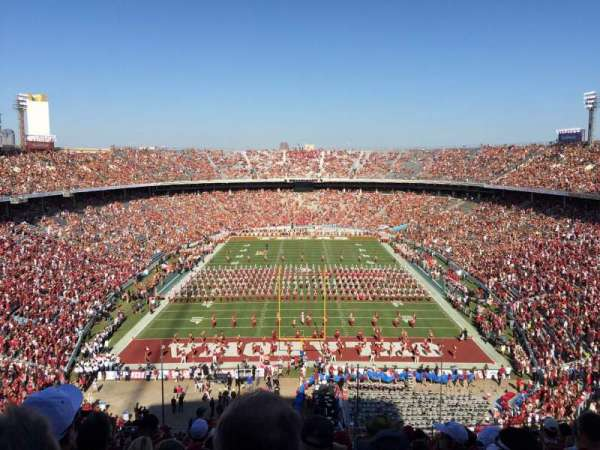 Cotton Bowl, vak: 138, rij: 17, stoel: 17