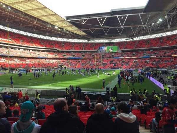 Wembley Stadium, vak: 131, rij: 19, stoel: 256