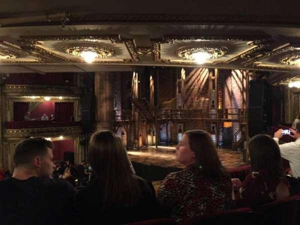 CIBC Theatre, vak: Dress Circle R, rij: C, stoel: 6