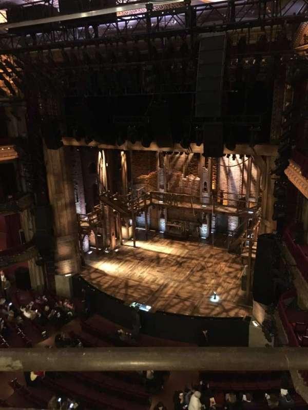 CIBC Theatre, vak: Balcony R, rij: A, stoel: 6