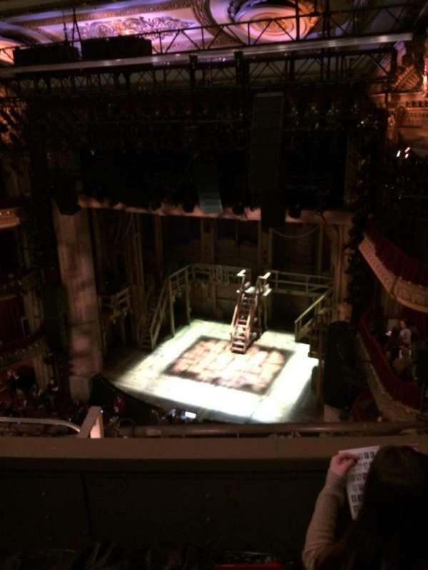 CIBC Theatre, vak: Balcony R, rij: C, stoel: 8