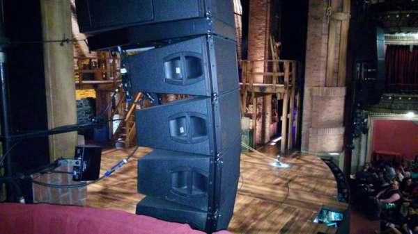 CIBC Theatre, vak: Dress Circle Box 3, rij: A, stoel: 3