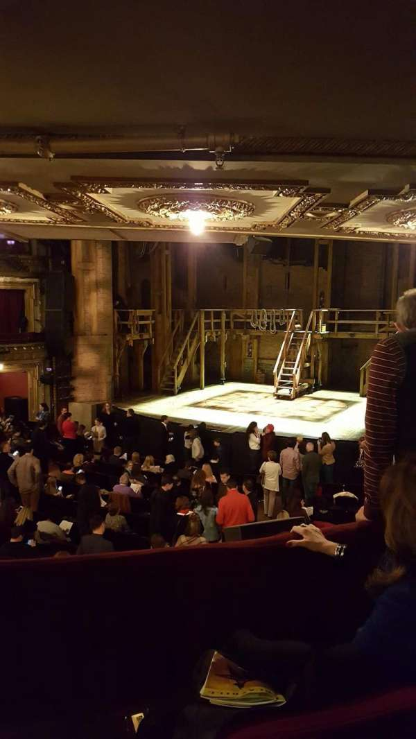 CIBC Theatre, vak: Dress Circle R, rij: C, stoel: 2