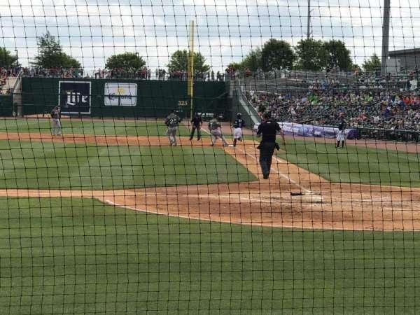 Arvest Ballpark, vak: 114, rij: B, stoel: 6