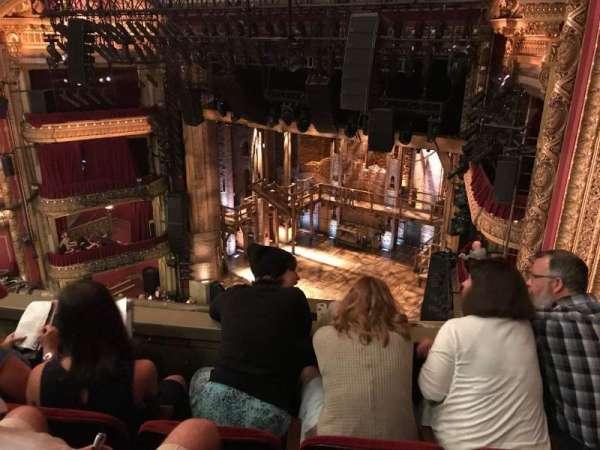 CIBC Theatre, vak: Balcony R, rij: C, stoel: 2