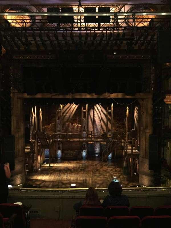 CIBC Theatre, vak: Mezzanine RC, rij: F, stoel: 302