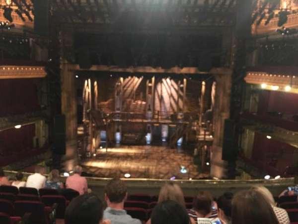 CIBC Theatre, vak: Mezzanine RC, rij: H, stoel: 302