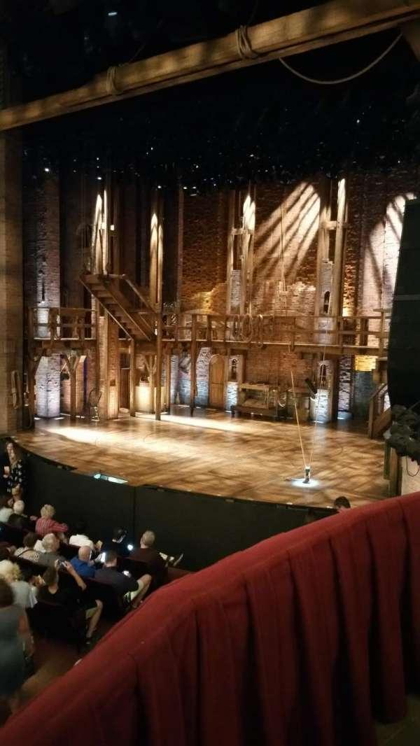 CIBC Theatre, vak: Dress Circle Box 2, rij: 2, stoel: 206