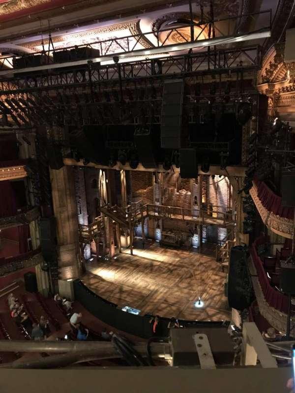 CIBC Theatre, vak: Balcony R, rij: B, stoel: 10