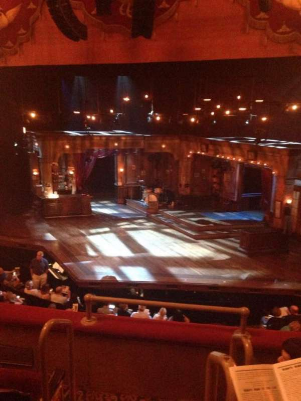 Bernard B. Jacobs Theatre, vak: Mezz Right, rij: D, stoel: 2