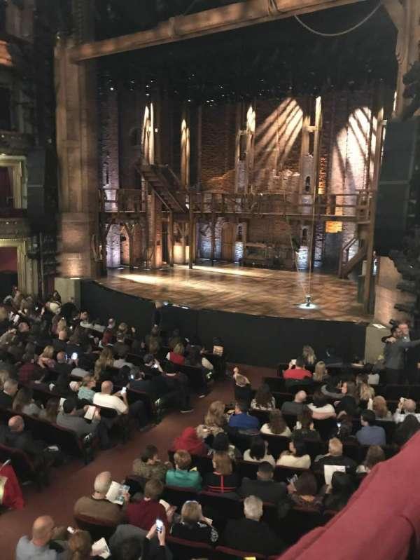 CIBC Theatre, vak: Dress Circle R, rij: 1, stoel: 10